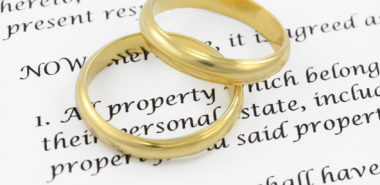 Prenuptial agreement completed by Chicago family law attorneys.