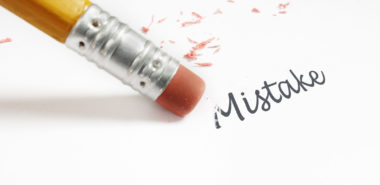 "closeup of a pencil eraser fixing a ""mistake"" representing how an unhappy marriage can be corrected with the help of a Chicago divorce attorney."