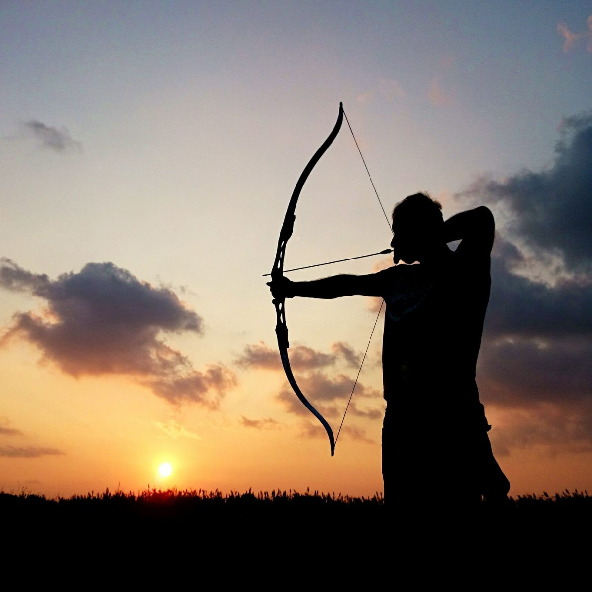 A man holding a bow and arrow represents how a Chicago family law attorney can help you hit the target.