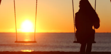 Single woman alone swinging after her Chicago divorce lawyer was able to get her a divorce.