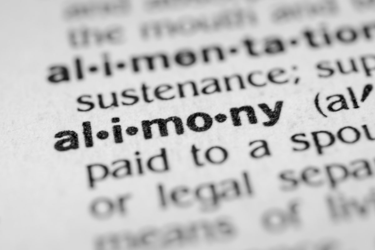 The word alimony in a dictionary, our Chicago divorce attorneys can assist you with spousal support and alimony