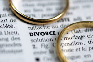divorce with wedding rings representing how our Deerfield divorce attorneys can help you with your divorce